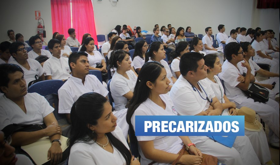 Internos de Medicina trabajan más de 30 horas seguidas y solo reciben S/ 400