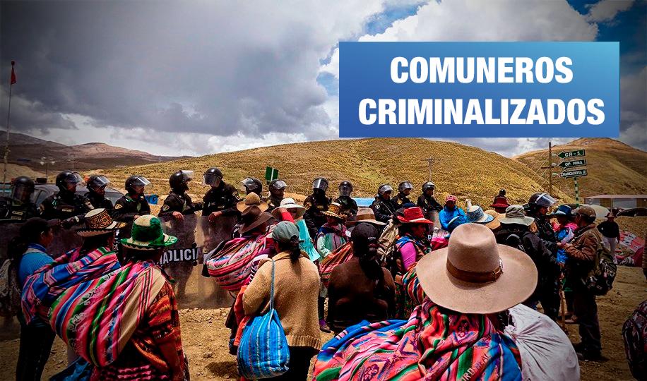 Cusco: Fiscalía pide 9 meses de prisión preventiva para dirigentes sociales en Espinar