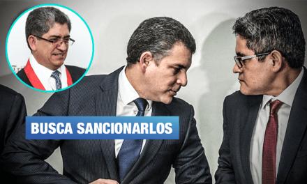 Magistrado del TC presenta queja contra fiscales Vela y Domingo Pérez
