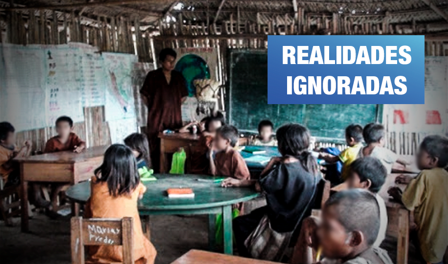 Ministerio de Educación recorta sueldos de docentes en comunidades asháninkas