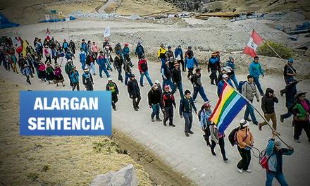 Las Bambas: Por décima vez se suspende juicio a 19 defensores denunciados por minera