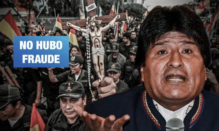 Evo Morales sí ganó las últimas elecciones presidenciales en Bolivia según estudio en EE.UU.