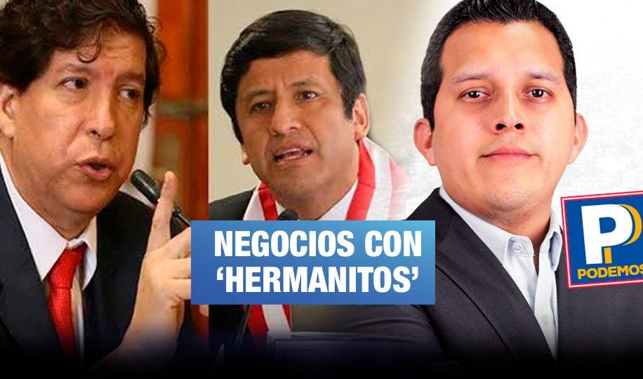 Caso Telesup: Hijo de Luna Gálvez y electo congresista contrató a exconsejeros del CNM