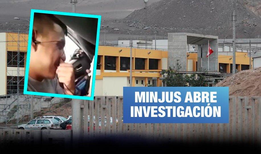 Presos realizan videollamadas fuera de penal de máxima seguridad en Ancón