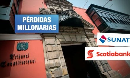 Sentencia del TC obligaría a Sunat a devolver más de S/ 400 millones a banco Scotiabank