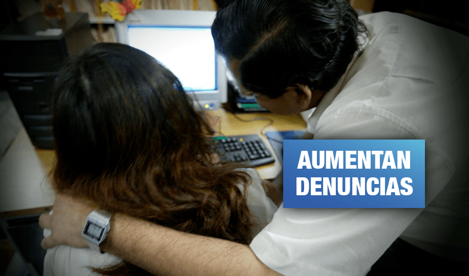 Acoso sexual: Más de 40 denuncias en centros laborales del Estado en 2019