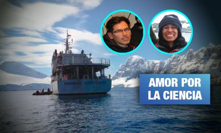 Dos peruanos estudian algas en la Antártida para salvarnos del cambio climático