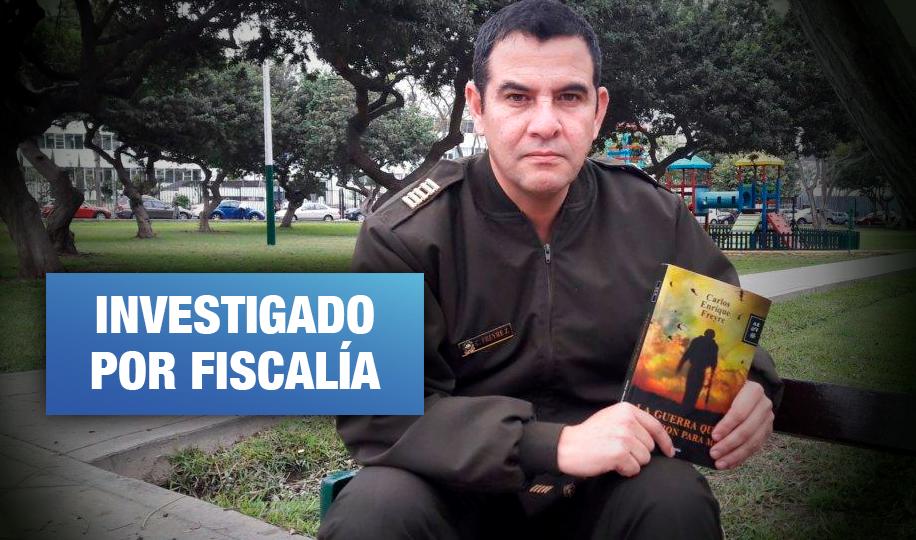 Carlos Freyre: El militar y escritor denunciado por violencia contra la mujer