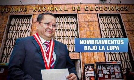 Fiscal de la Nación investiga a miembro del JNE que aparece en audio con Hinostroza