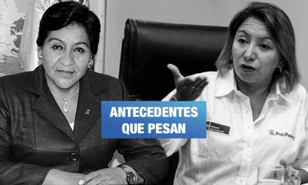 Dos ministras del gabinete Zeballos en la mira de la Fiscalía y la oposición del Congreso