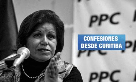 Barata declaró haber aportado US$100 mil a campaña de Lourdes Flores en 2010