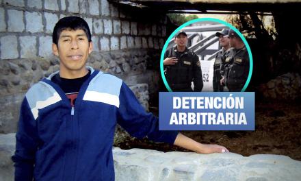 Puno: Policías detienen arbitrariamente a periodista durante «toque de queda»
