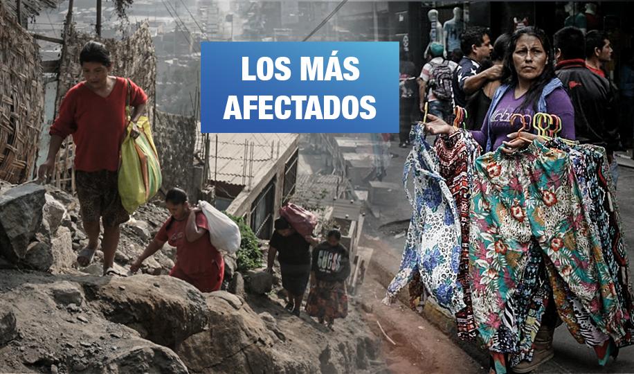 Grupos vulnerables al COVID-19: en pobreza, sin agua y en la informalidad