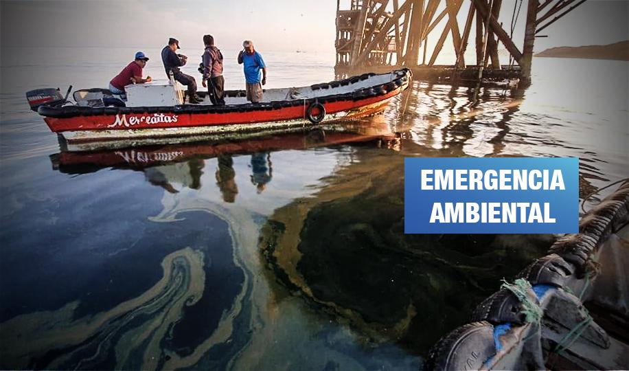 Savia Perú derrama petróleo en mar de Cabo Blanco