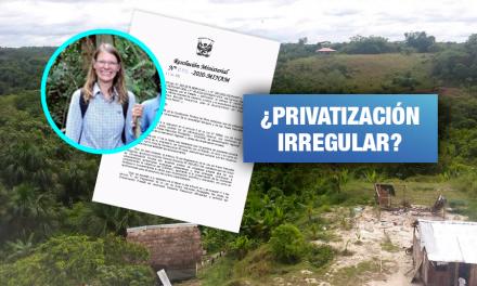 Ciudadana checa es denunciada por apropiarse de  tierras que ocupaban 500 familias en Loreto