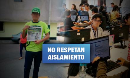 Empresas de comunicación y call centers pusieron en riesgo salud de trabajadores durante cuarentena