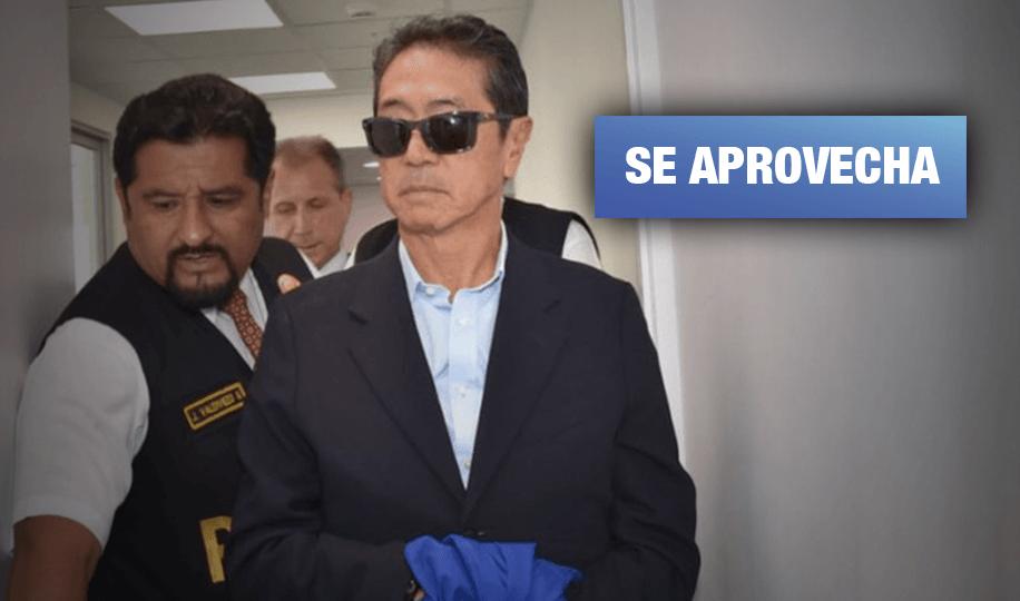 Exsecretario fujimorista busca liberación con excusa de riesgo de coronavirus