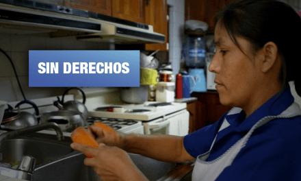 Trabajadora del hogar es obligada a renunciar a su sueldo durante emergencia nacional