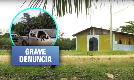 Militares realizan abrupta incursión a comunidad nativa sin respetar medidas de prevención