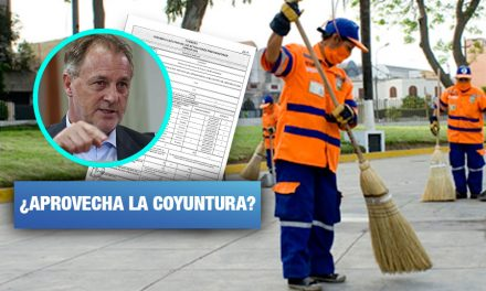 Municipalidad de Lima convoca a licitación que puede dejar a cientos de trabajadores en la calle