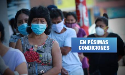 Hospitales de Piura y Tumbes siguen deteriorados y sin agua pese a crisis sanitaria