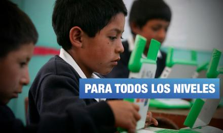 Aprendo en casa: hoy inician clases escolares por internet, radio y televisión
