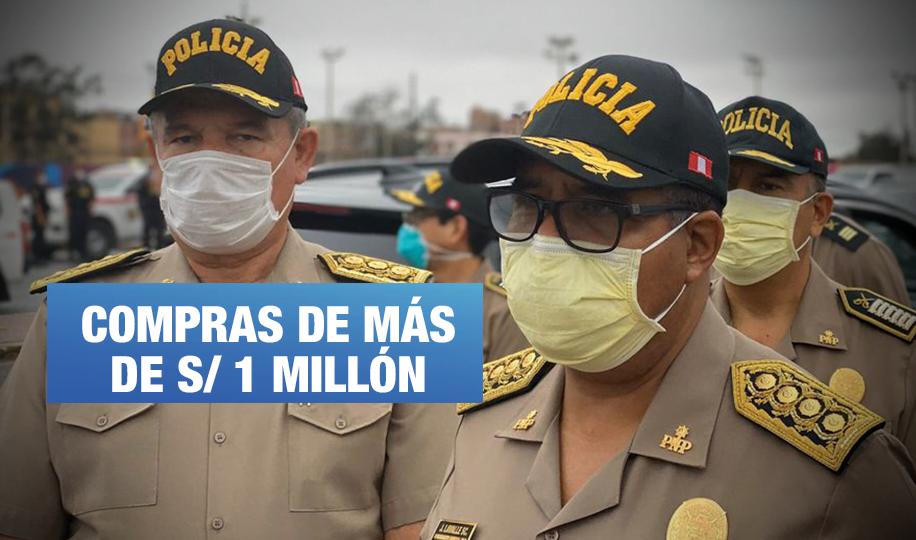 Policía Nacional adquirió mascarillas y gel sin registro sanitario