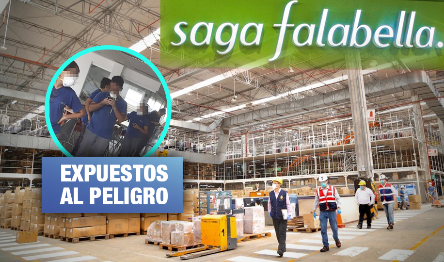 Trabajadores desmienten a Saga Falabella sobre labores 'voluntarias'