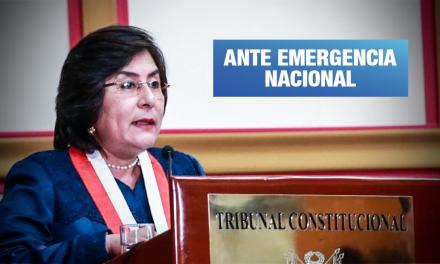 Presidenta del TC propone recortar sueldos a altos funcionarios públicos