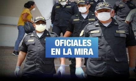 PNP: Fiscalía investiga compras de 1 millón 455 mil soles en materiales de protección