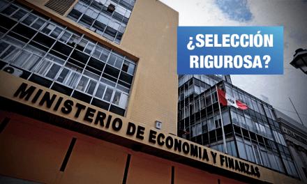 MEF contrató a bufete de abogados que defendió a Graña y Montero