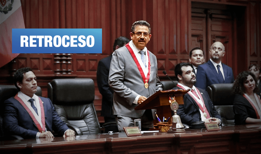 Presidente del Congreso propone eliminar la alternancia en elecciones del 2021