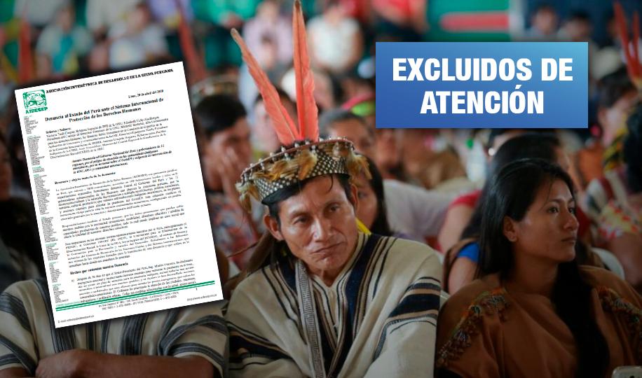 Organizaciones indígenas amazónicas denuncian al Estado peruano ante la ONU
