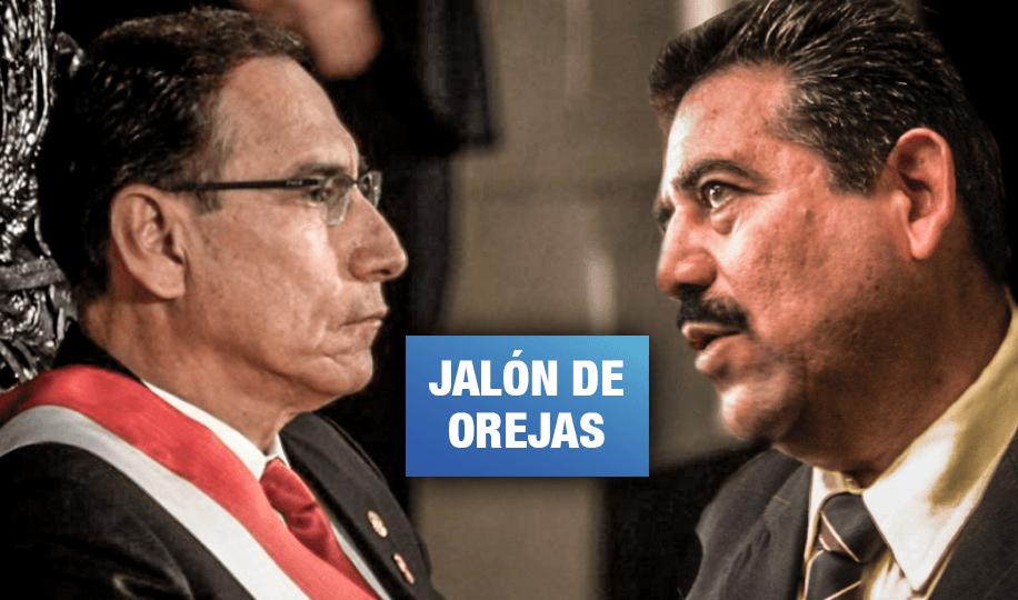 Vizcarra critica intención de eliminar la alternancia en las listas electorales