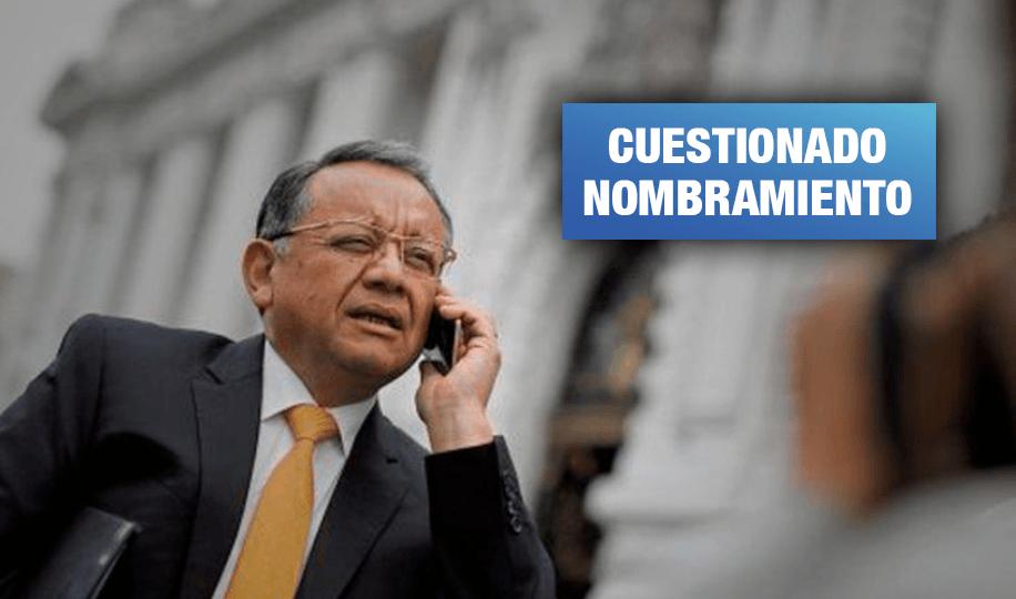 Congreso: Excontralor investigado por corrupción presidirá Comisión de Fiscalización