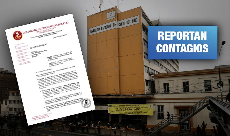 Colegio de Nutricionistas del Perú reclama bonos para sus profesionales
