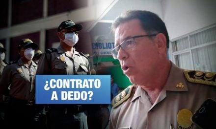 Fiscalía Militar Policial investiga a General por compras de mascarillas y alimentos por COVID-19