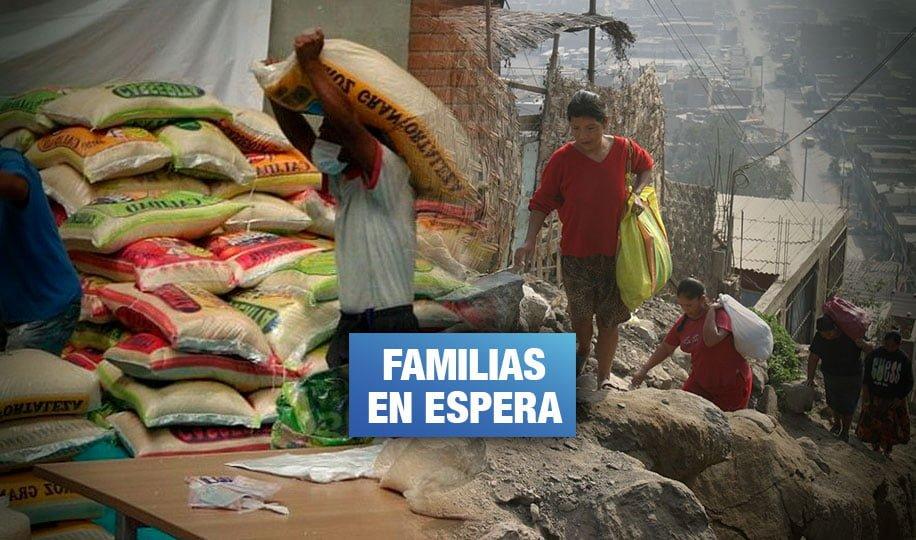 Municipalidades usan menos de la mitad del dinero asignado para canastas de alimentos