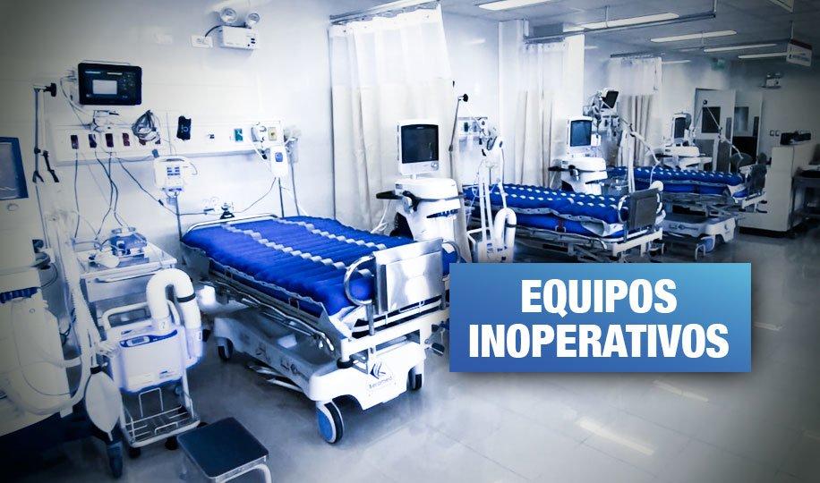 Empresa vendió al Minsa ventiladores incompletos para pacientes de COVID-19