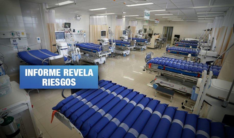 Coronavirus: Hospital de Ate solo cuenta con 20 camas en UCI y 35 ventiladores incompletos