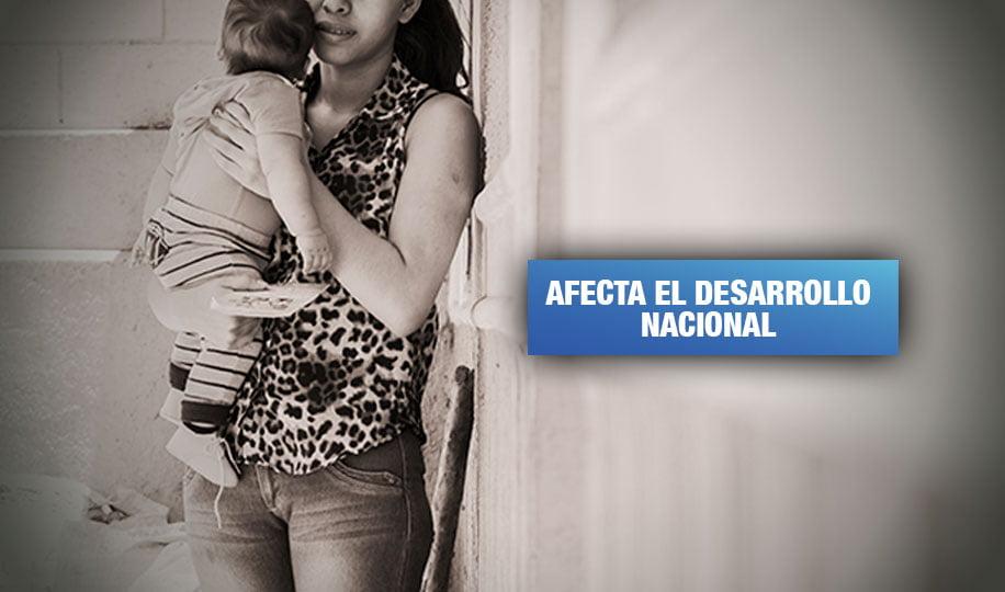 Seis países pierden casi $3 billones al no solucionar embarazo adolescente