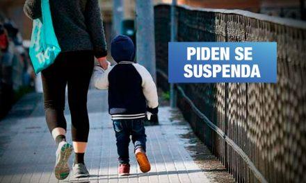 Especialistas advierten riesgos a la salud de menores de edad por salida en cuarentena