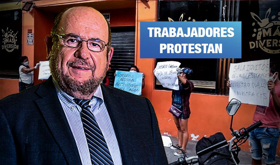 Denuncian falta de pagos en consorcio del 'Rey de las tragamonedas'