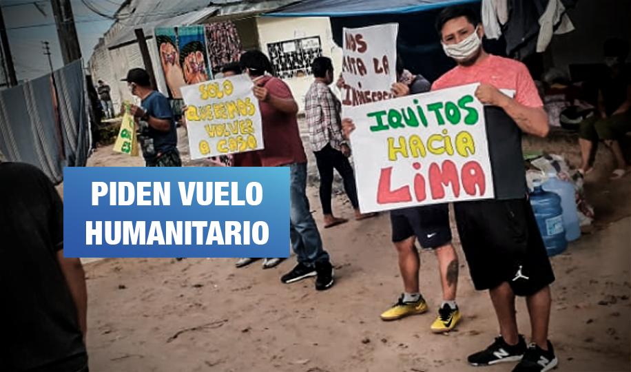 Más de 3 mil personas varadas en Loreto buscan retornar a Lima