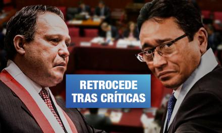 Fujimorista Mesía retira a Abanto como consejero de comisión de Constitución