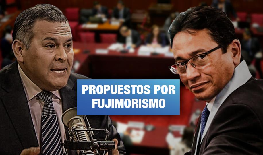 Exabogado de Alan García y abogado de Yoshiyama serán consejeros en comisión de Constitución