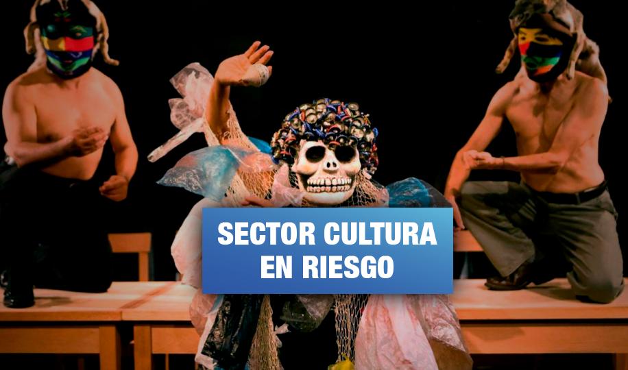 Agrupaciones de teatro exigen apoyo del Gobierno frente a la crisis económica