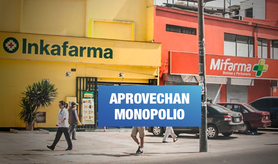Cadenas de boticas del Grupo Intercorp elevan precios de medicamentos