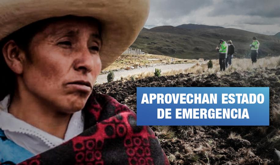 Denuncian hostigamiento de Yanacocha y PNP contra Máxima Acuña y su familia