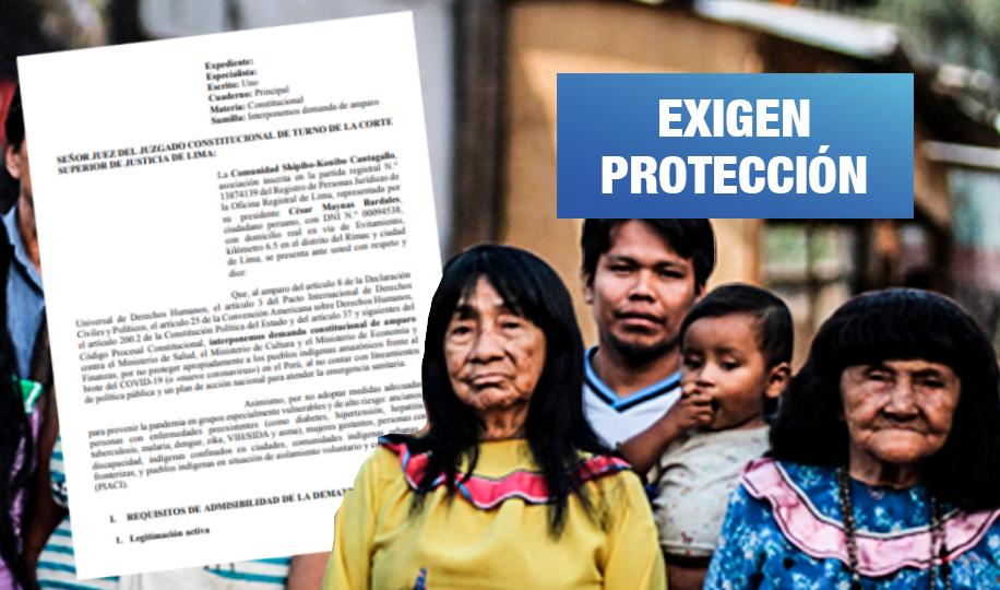 Comunidad Shipibo-Konibo de Cantagallo demanda a tres ministerios por desatender salud indígena